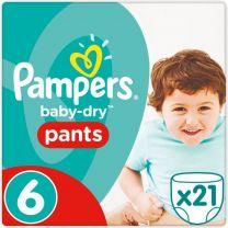 Pampers Baby Dry Pants Maat 6 - 21 Luierbroekjes