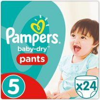 Pampers Baby Dry Pants Maat 5 - 24 Luierbroekjes