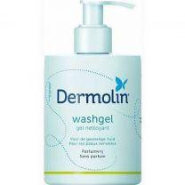 Dermolin Washgel 200 ml Zeepvrij