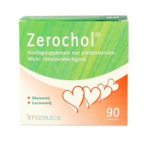 Zerochol Pharmaccent 90 tabletten Voedingssupplement