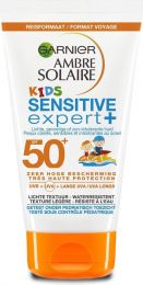 Garnier Ambre Solaire Zonnebrand 50 ml Crème Kids SPF 50+