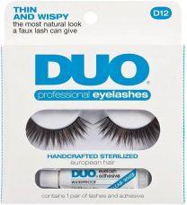 Duo Eyelash Professional Kit D12