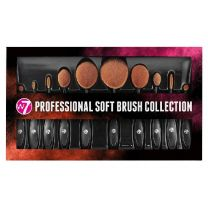 W7 Professional Soft Brush Set 10 stuks