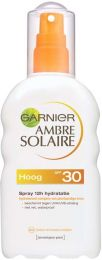Garnier Ambre Solaire Zonnebrandspray 200 ml Hydraterende SPF 30