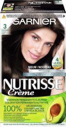 Garnier Nutrisse Crème Haarverf 3 Donkerbruin