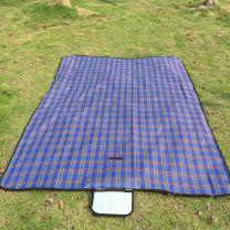 Blauwe Picknick Kleedje 150x180CM