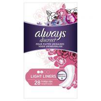 Always Discreet Light Liners 28 Stuks