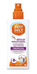 Zensect Lotion 100 ml Skin Potect Tropical