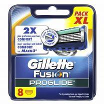 Gillette Fusion ProGlide Scheermesjes  - 8 stuks