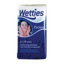 Wetties Pocket 2 x 10 Stuks