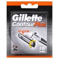 Gillette Contour Plus 10 stuks
