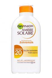Garnier Ambre Solaire Zonnebrandcrème 200 ml Hydraterend SPF20