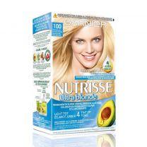 Garnier Nutrisse Crème Haarkleuring 100 Zeer Licht Natuurlijk Blond