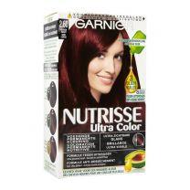Garnier Nutrisse Permanente Haarkleuring 2.6 Kers zwart