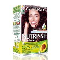 Garnier Nutrisse Permanente Haarkleuring 36 Diep Rood Donkerbruin