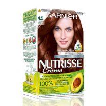 Garnier Nutrisse Crème Haarkleuring 4.5 Mahoniebruin