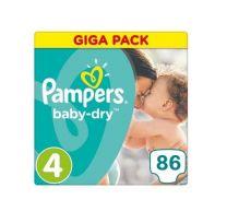 Pampers Baby Dry Maat 4 - 86 Luiers
