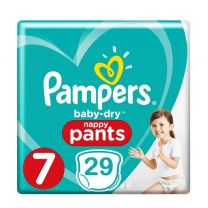 Pampers Baby Dry Nappy Pants Maat 7 - 29 Luierbroekjes