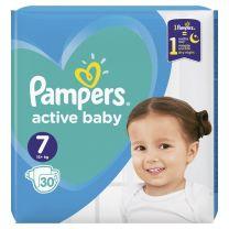 Pampers Active Baby Dry Maat 7 – 30 Luiers