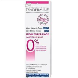 DiadermineNachtcrème 50 ml High Tolerance Intens Voedende