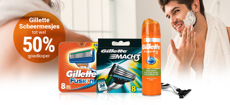 aanbieding Gillette